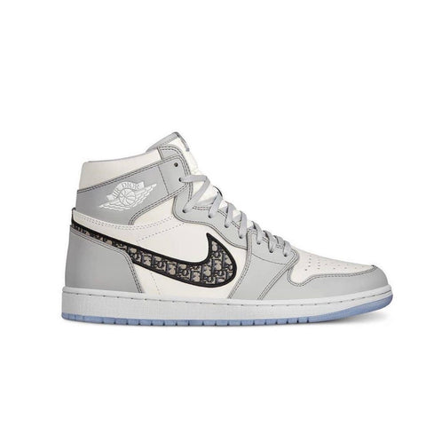 AJ D1OR Retro Luxury Basketball Mens Women's Shoes - White/Grey/Black