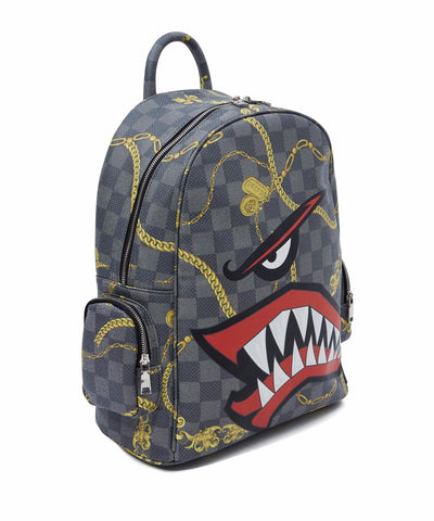 Reason Clothing Face Backpack - Black