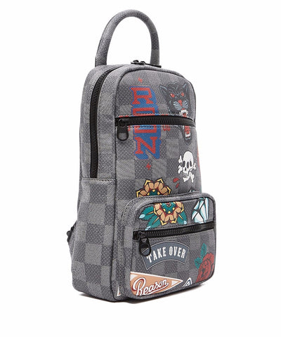 Reason Clothing Takeover Sling Bag - Black