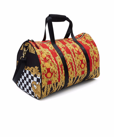 Reason Clothing Chain Royal Bag - Red/Gold