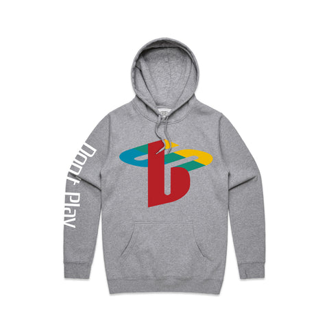 Brast Don't Play Hooded Sweater - Grey