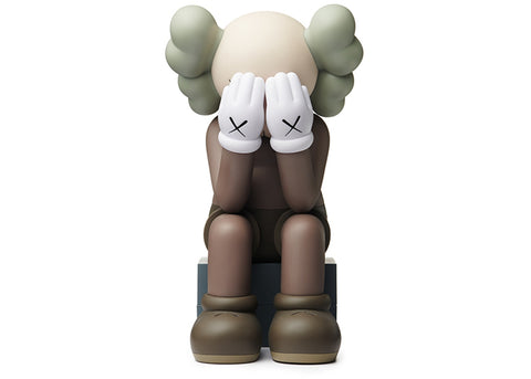 Kaws (Original Fake)Passing Through Vinyl Figure - Brown