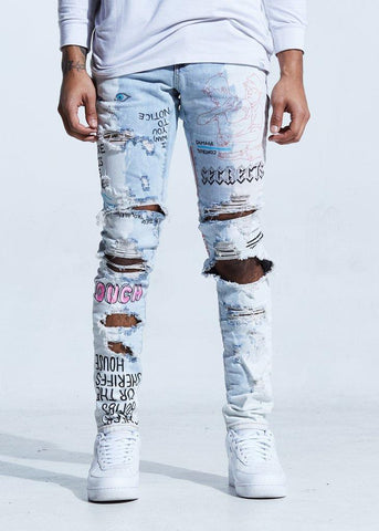 Lifted Anchors Capulet Written Jeans - Blue