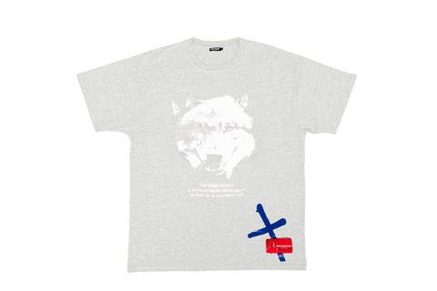 Renowned LA Lone Wolf Tee - Grey