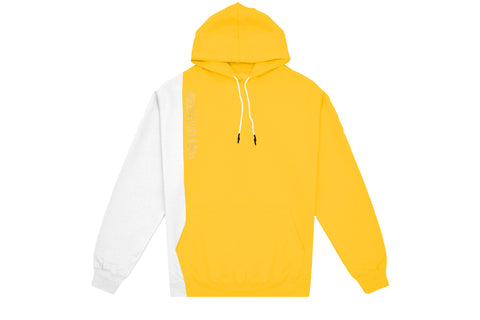 Renowned LA Shine Hoody - Yellow/White