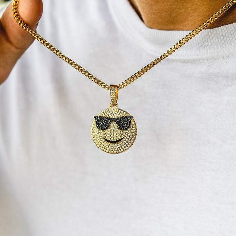 The Gld Shop Too Cool Pendant - Gold