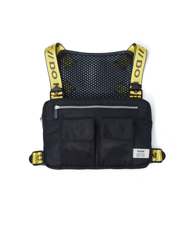 Reason Clothing Overhead Vest Bag - Black