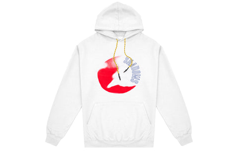Renowned LA Moonlit Hoody - White