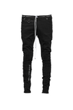 Paraval The Denim Straight Leg Jean - Black