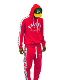 Phck Lifestyle Raised by Loyalty Sweat Suit - Red