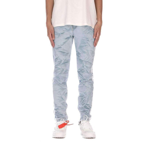 DSRCV CREASED DENIM PANTS - BLUE