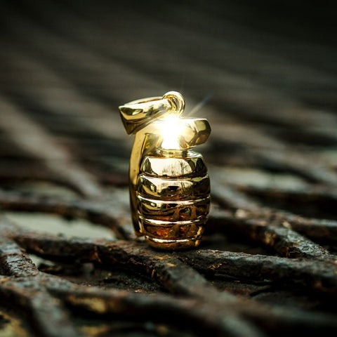 The GLD Shop The Golden Grenade Pendant - 18k Gold