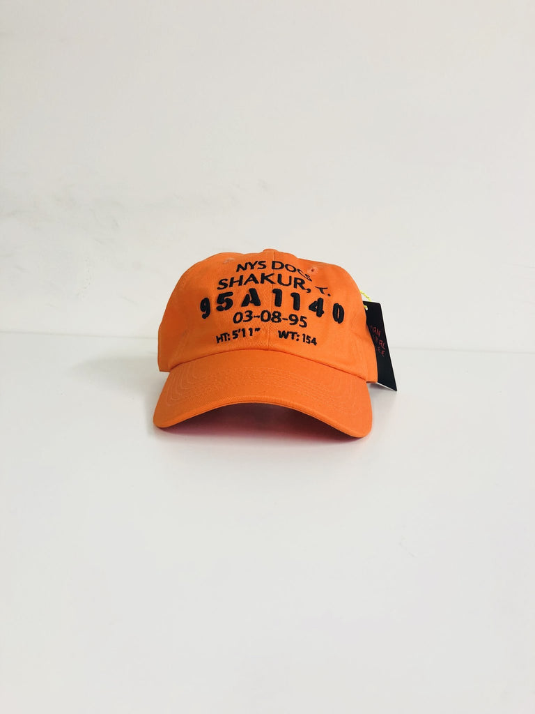 Redi LA 2Pac Mugshot Cap - Orange