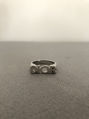 Supply Bloq Silver Christian D Ring