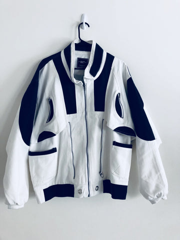 Redi LA Pattern Jacket - White/Blue