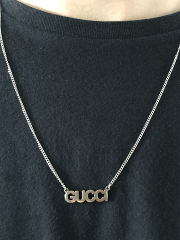 Supply Bloq Silver GG Letter Chain