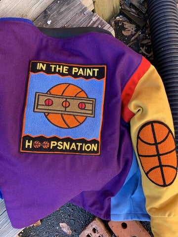 Hollywood Hunna Hoops Nation Jacket - Purple