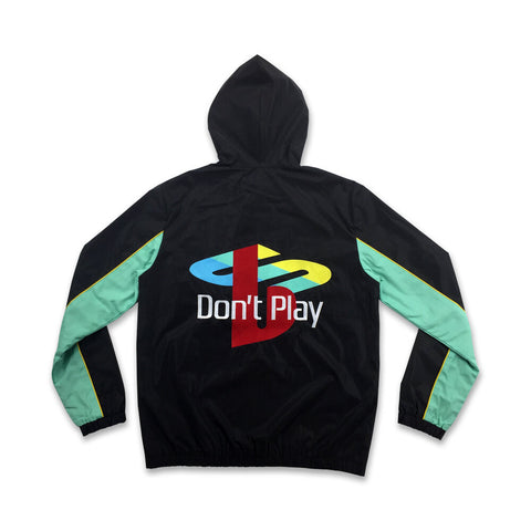 Brast Don't Play 3M Windbreaker - Black