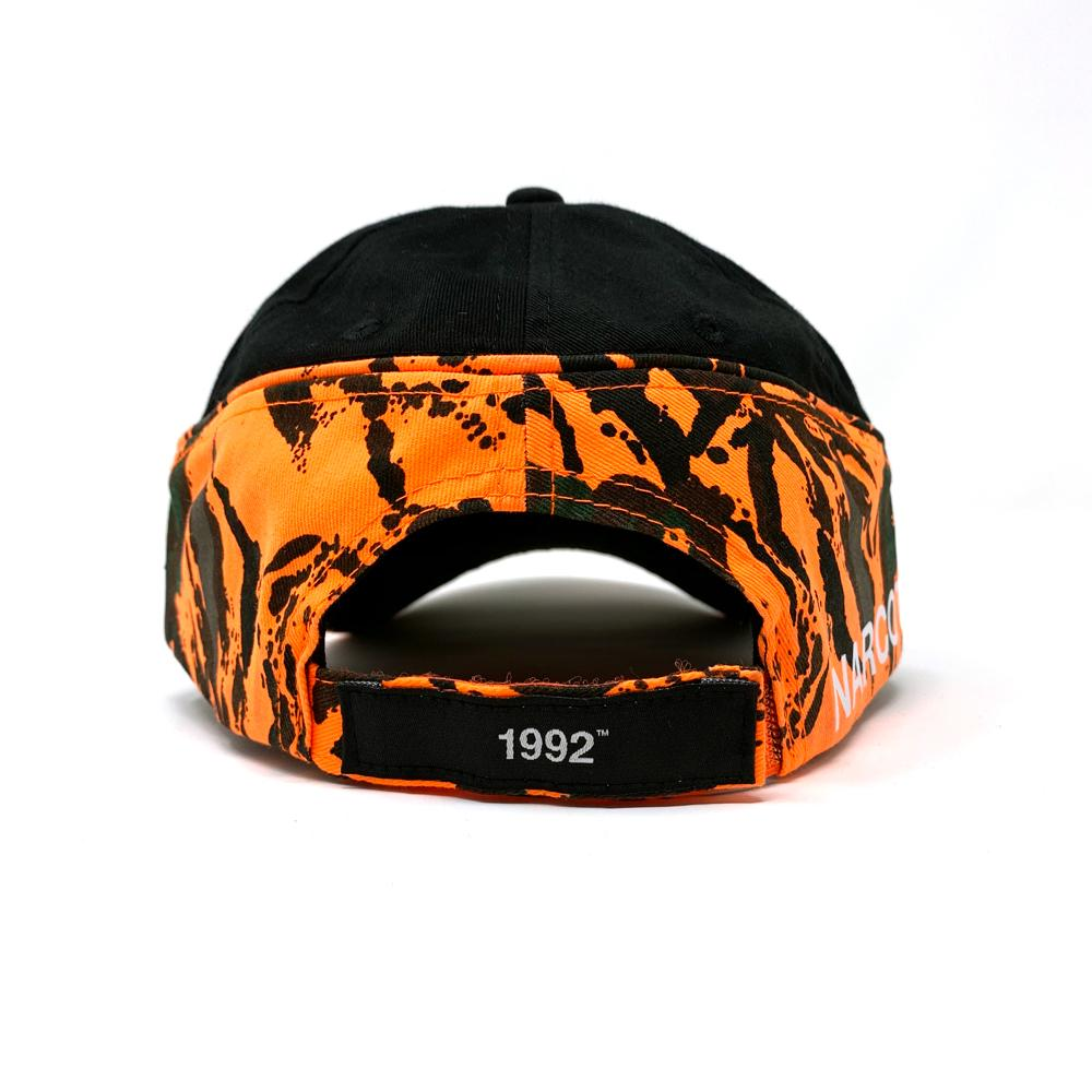 1992 Gear K-92 Unit Hat - Black/Orange