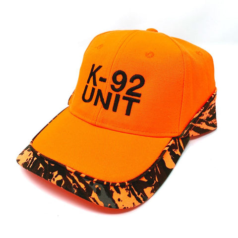 1992 Gear K-92 Unit Hat - Orange/Black