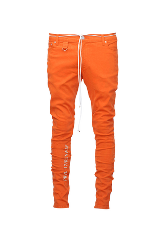 Paraval The Denim Straight Leg Jean - Orange