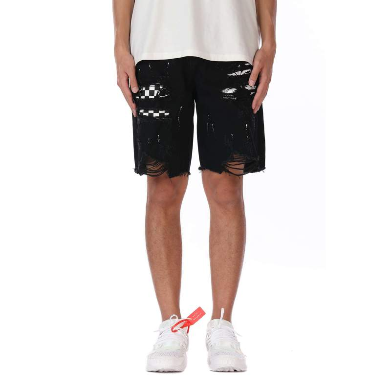 DSRCV PATCH SHORTS - BLACK