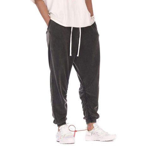 DSRCV RELAXED GUNMETAL SWEATPANTS - GUNMETAL BLACK