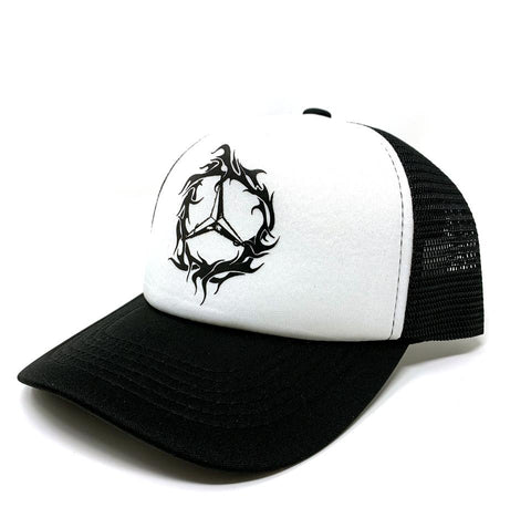 1992 Gear Demz Tribe Trucker - Black/White