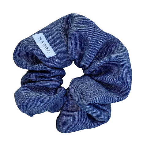 Minogue Denim Scrunchie