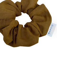 Load image into Gallery viewer, Linen | Stone Scrunchie
