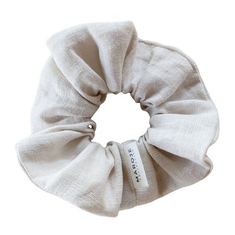Linen | Canvas Scrunchie