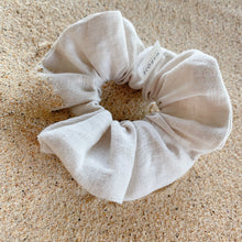 Load image into Gallery viewer, Linen | Canvas Scrunchie