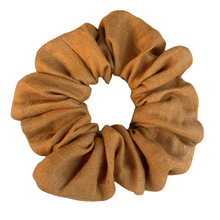 Load image into Gallery viewer, Linen | Ochre Scrunchie