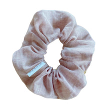 Load image into Gallery viewer, Linen | Magnolia Scrunchie
