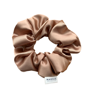 SATIN | Rose Gold Scrunchie