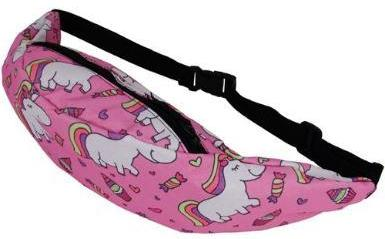 The Pink Candy Unicorn Fanny Pack