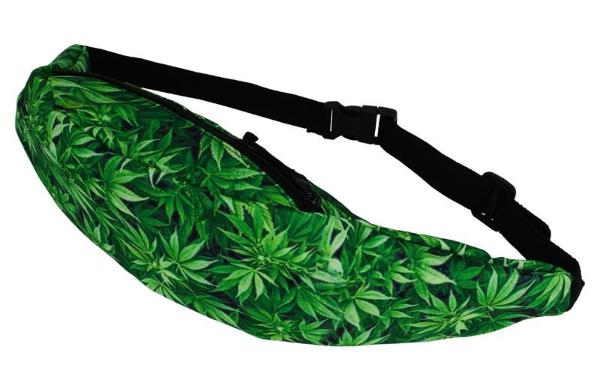 The Marijuana Leaf Fanny Pack