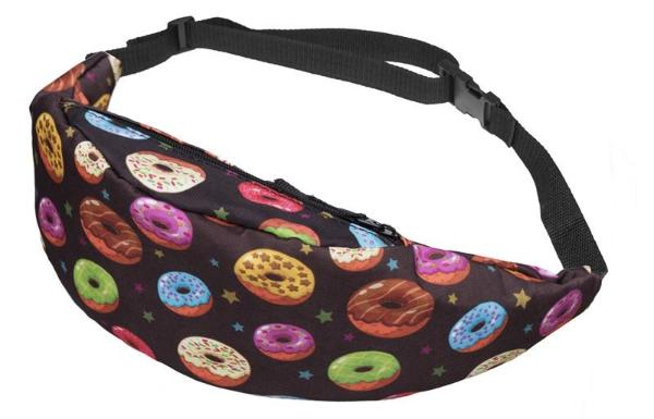 The Space Ice Cream Donut Unicorn Fanny Pack