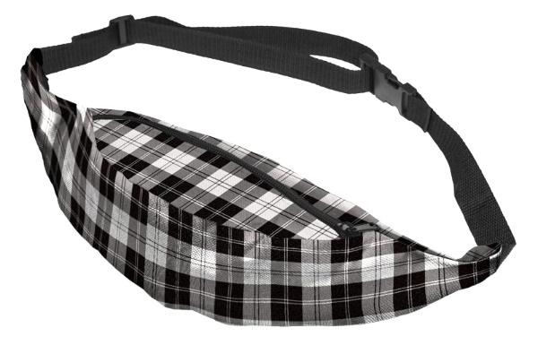 The White Plaid Fanny Pack