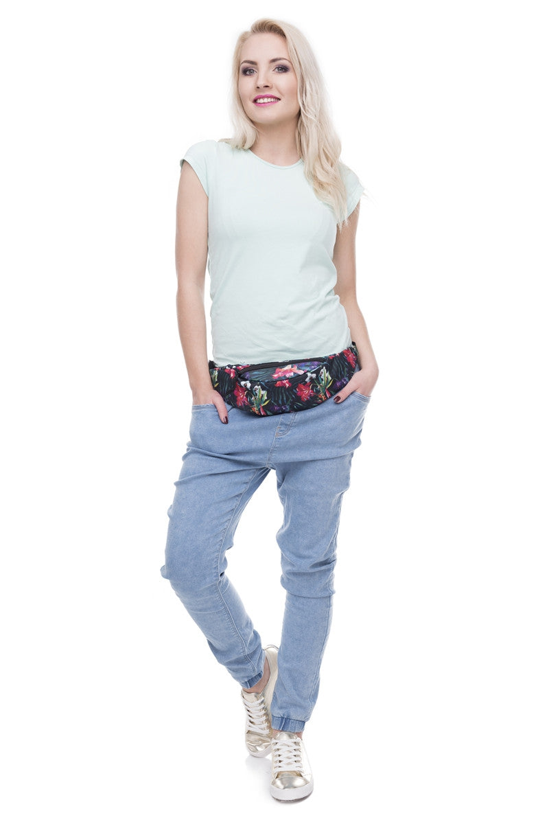 The Dark Floral Fanny Pack