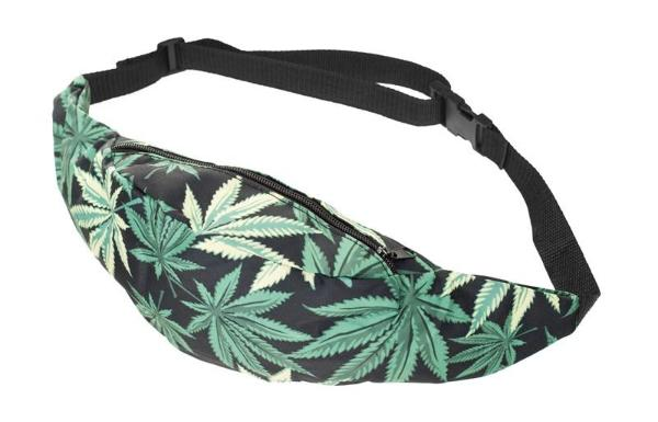 The Weed Leaf Fanny Pack