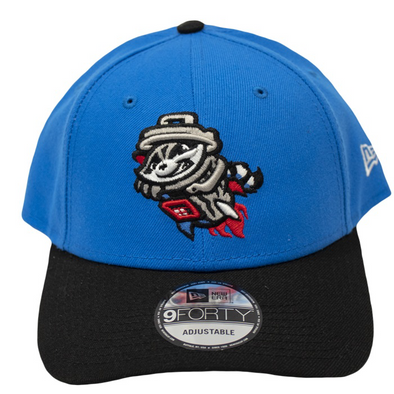 9-40 Adjustable Snapshot Blue League Cap Imprinted with Primary Logo