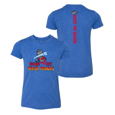 108 Youth Royal T-Minus Razorback T-shirt Pre-Sale
