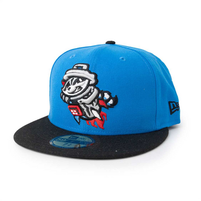 59-50 SNAPSHOT BLUE PRIMARY BLACK BILL CAP