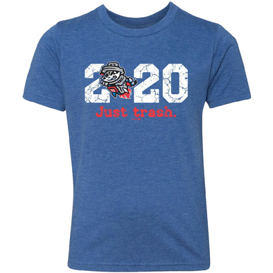 Youth 2020 Just Trash Royal Tri-Blend
