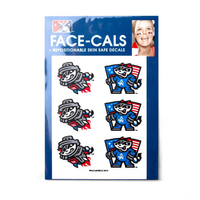 Face Tattoos - 6pc Facecals