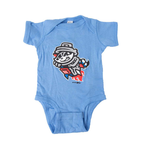 ONESIE BLUE PRIMARY