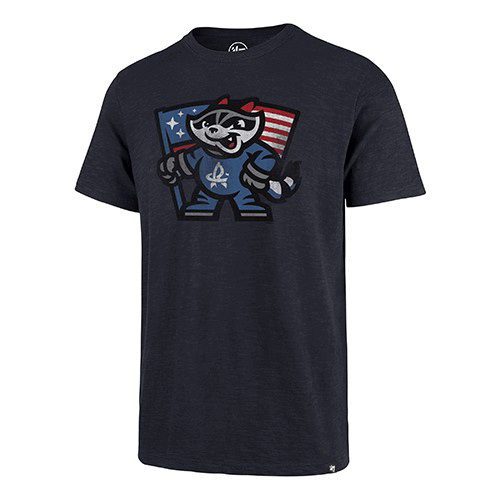 47 Charcoal Flag Scrum T-shirt