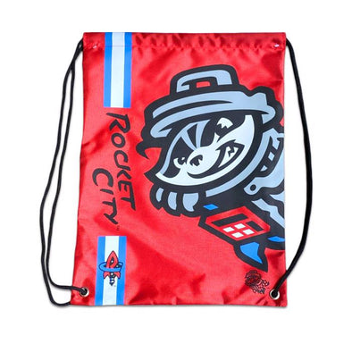 Drawstring Bag Red RC Primary