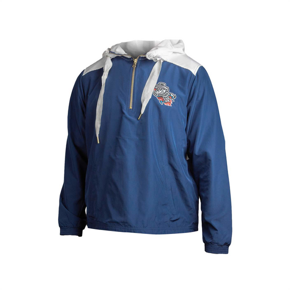 Boxercraft Women's Navy/White Primary Windbreaker